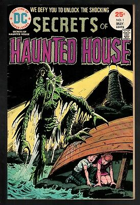 Secrets of Haunted House #1 VG/FN 5.0 DC Bronze Age Horror 1975!!!