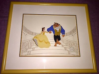"""Disney """"Beauty and the Beast"""" Serigraph Cel Edition size 2500"""
