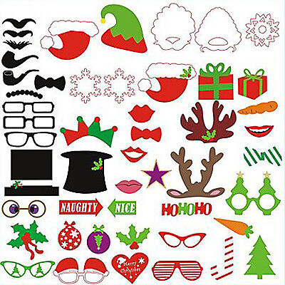 Party Props Funny Sticks on Photo Booth Birthday Wedding Christmas Xmas Parties