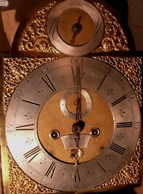 "Antique Oak Case "" London ""  8 Day Longcase / Grandfather  Clock"