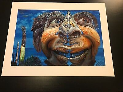 David Welker Portrait Of Mike Gordon 2006 Giclee Signed Numbered Excellent Rare