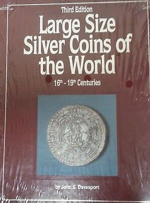Large Size Silver Coins Of The World ~ John S. Davenport ~ Hardcover ~ Sealed!