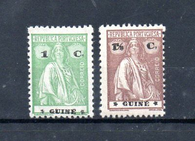 set of 2 mint ceres stamps from portuguese guinea