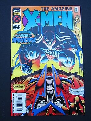 Amazing X-Men #1, #3, #4 Deluxe 1995  NM Lot of 3 High Grade Marvel Comics