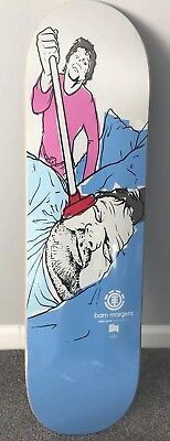 RARE NEW Bam Margera PLUNGER Element Reissue Skateboard Deck CKY LIMITED EDITION