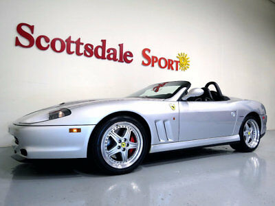 2001 Ferrari 550 * ONLY 3K MILES... 2001 550 BARCHETTA w ONLY 3,891 MILES, #275/448, RACE SEATS, BEST of the BEST!!