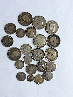 Gb Lots Of Silver Coins