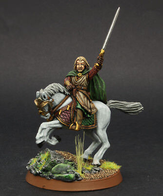 LOTR  Theoden (warg attack) OOP Well Painted