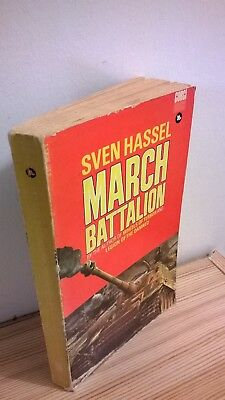 March Battalion by Sven Hassel (Paperback, 1970)