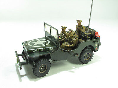 ARNOLD JEEP J 2100 1951 US ARMY, mit Original Besatung, Made in US ZONE  SELTEN