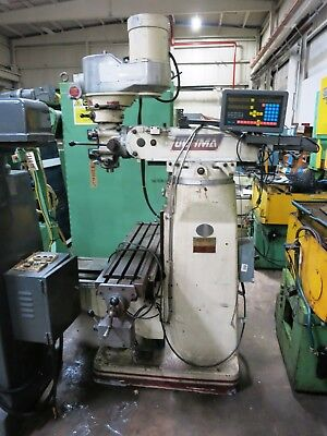 Acer (Bridgeport Type) Model Ultima 3Vs Vertical Milling Machine