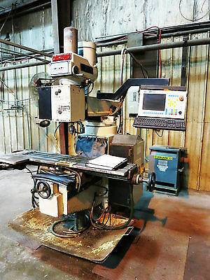 VECTRAX MODEL GS-N16V 3-AXIS CNC KNEE TYPE MILLING MACHINE,will ship( bridgeport