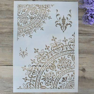 Letter Alphabet Embossing Template Stamp Scrapbooking Layering Stencils