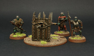 LOTR  Mordor Orc Siege Bow Well Painted