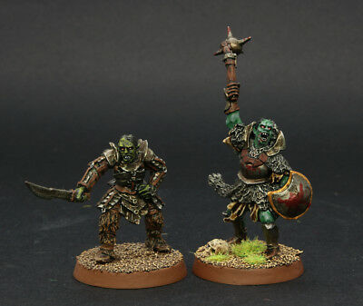 LOTR  Gorbag and Orc Captain