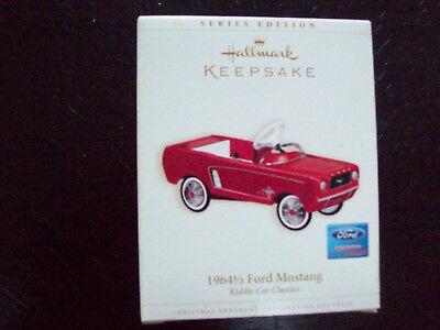 Hallmark Keepsake 1964-1/2 Ford Mustang Kiddie Car Classics Ornament #13 2006
