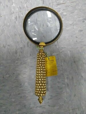 Vintage magnifying glass - Antique Brass FREE SHIPPING!!
