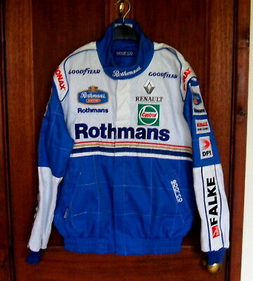 1997 Rothmans  Sparco F1 Jacket. Mint Condition.