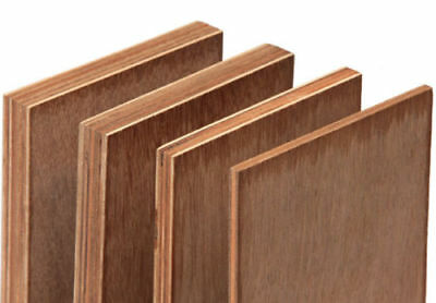Hardwood Plywood Sheets 8' x 4' - 1220mm x 2440mm - 6mm - 9mm - 12mm - 18mm