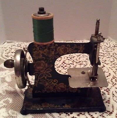 Antique Child's Sewing Machine Made In Germany