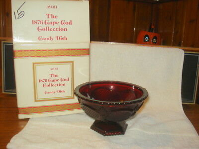 Avon Cape Cod Footed Candy Bowl New/ 1987.....