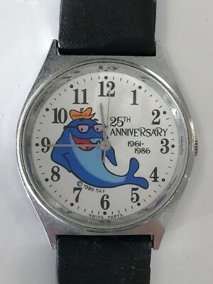 Vintage 'Charlie the Tuna' 25th Anniversary Watch