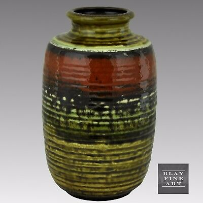 Vintage CARSTENS Abstract Fat Lava Vase West German Ceramic Pottery 7904-20 MCM