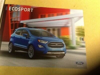 2018 ford Ecosport brochure