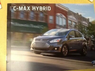 2018 Ford C-Max brochure new
