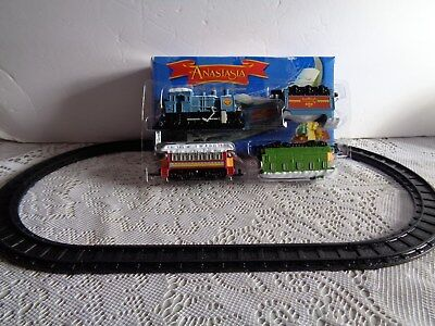 Anastasia Mini Toy Train Set NIB 20th Century Fox Films 1997 Retired Collectable