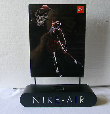 Nike Air Promotional Store Retail Display W/ Jordan Poster  Very Rare
