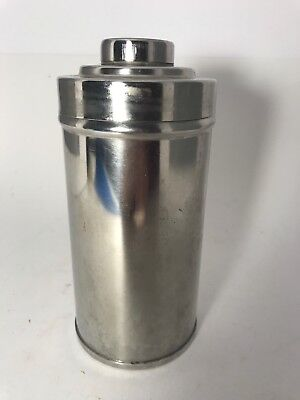 """Vintage 7"""" Stainless Steel Roll Film Developing Tank (Made in Germany)"""