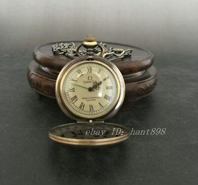 Collectible Chinese bronze sculpture can use the machinery pocket watch