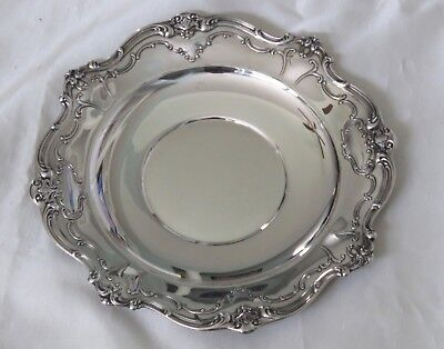 "Excellent Chantilly-Gorham Sterling Silver Sandwich Tray #746-10"" **"