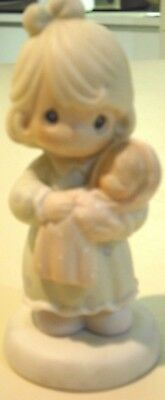 """Precious Moments Figurine """" All Things Grow With Love"""" Dated 1996  Enesco  Corp"""