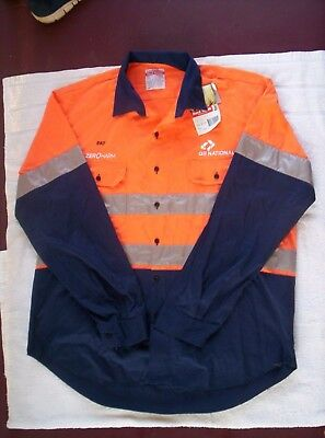 QRNational HI VIZ  shirt - Size XXOS Brand New with tag -  QR National Rail