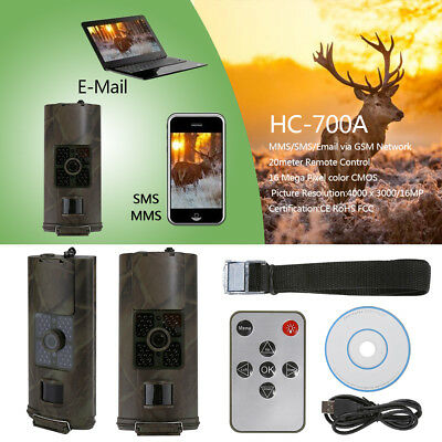 HC-700A 1080P Full HD 16MP 940NM Scouting Infrared Trail Hunting Camera WB1 lot