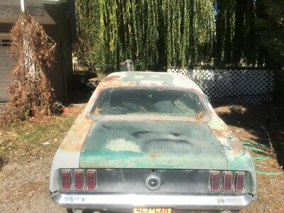 1969 Ford Mustang  1969 Mustang Coupe, Project Car
