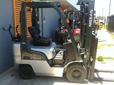 Nissan Forklift 1.8 Ton 4.3m Lift Height Container Entry $11999+gst Negotiable