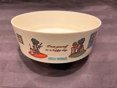MINT CONDITION 1976 Vintage Holly Hobbie Salad Bowl BRAND NEW NEVER CIRCULATED