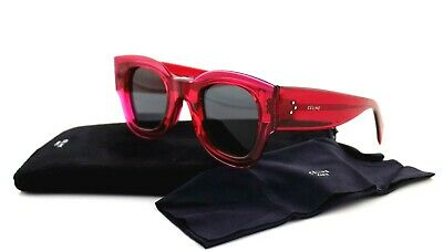 bba684f1b4f RARE NEW Genuine CELINE ZOE Ladies Fuchsia Crystal Sunglasses CL 41446 S  MU1 IR