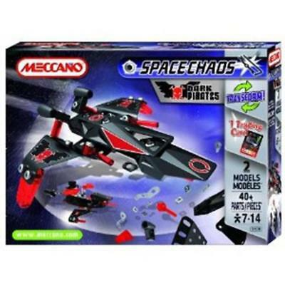 Meccano Space Chaos Patrol Ships Dark Pirates 803100b