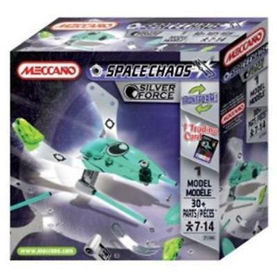 Meccano Space Chaos Drones Silver Force 802100a