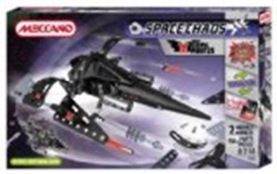 Meccano Space Chaos Dark Pirates Commander Plane 806102