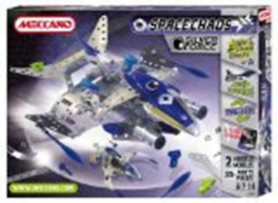 Meccano Space Chaos Silver Force Commander Plane 807101