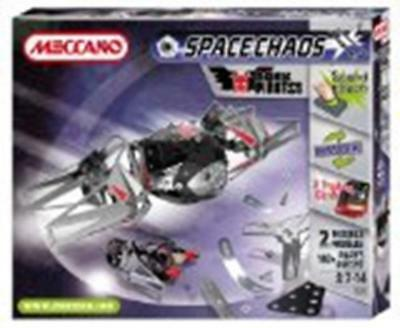 Meccano Space Chaos Dark Pirates Fighters Plane 805102