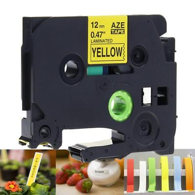 TZe-631 TZ631 Compatible for Brother P-touch Label Tape 12mm Laminated Yellow