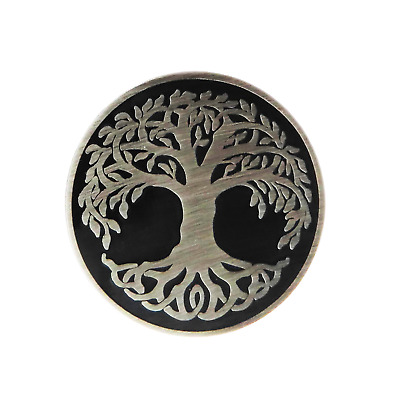 Yggdrasil The Tree of Life Gothic Pin Badge