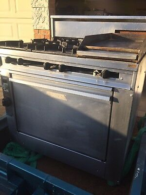 Commercial Natural Gas Oven