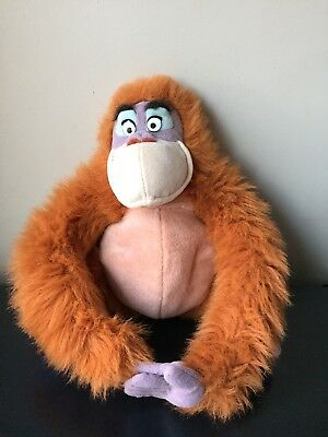 Genuine Disney Jungle Book King Louis Walt Disney World Plush Cuddly Soft Toy